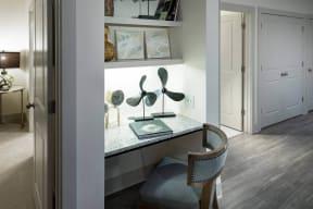 Built-in Study Desks in Select Homes at Windsor Oak Hill, Austin, TX