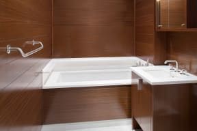 Oversized Soaking Tubs at The Aldyn, New York, 10069