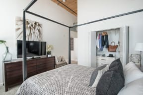 Large Comfortable Bedrooms With Vaulted Ceilings at Jack Flats by Windsor, 1000 Stone Place, Melrose