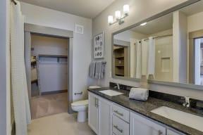 Double Bathroom Vanities at Windsor Old Fourth Ward, Atlanta, 30312