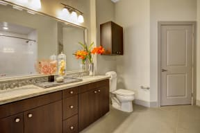 Spa-Inspired Bathrooms at South Park by Windsor, Los Angeles, California