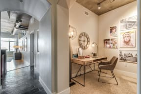 Dedicated Study Area in Select Apartments at Crescent at Fells Point by Windsor, Baltimore, 21231