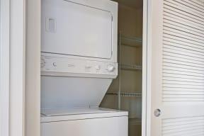 In-Home Washer and Dryer at Villa Montanaro,203 Coggins Drive Pleasant Hill, 94523