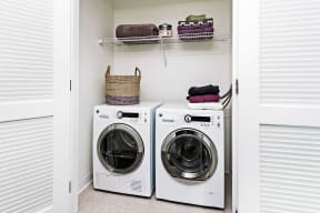 Full-Size Washers And Dryers at Waterside Place by Windsor, 505 Congress S, MA