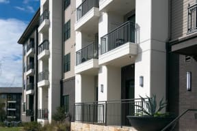 Large Private Patios & Balconies at Windsor Oak Hill, Austin, Texas