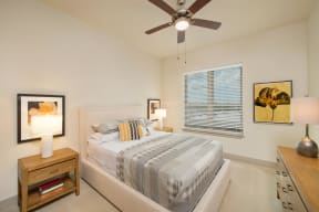 Ceiling Fan in Bedrooms at Windsor at West University, Houston, Texas