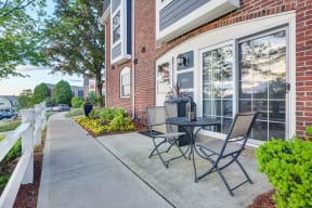 Personal Patios Available at Windsor Village at Waltham, Massachusetts, 02452