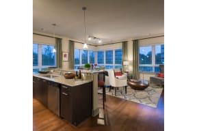 Beautiful Chef's Kitchen at Windsor at Cambridge Park, Massachusetts, 02140