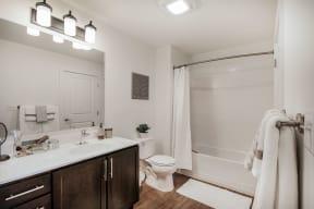 Large Soaking Tub In Bathroom at Jack Flats by Windsor, Melrose, Massachusetts