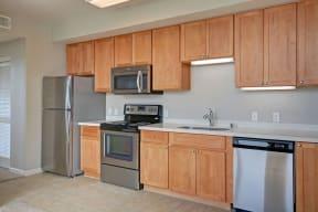 Integrated appliances at Villa Montanaro,203 Coggins Drive Pleasant Hill, CA 94523