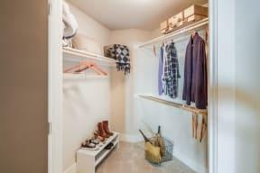 Abundant Storage Including Walk-In Closets  at Malden Station by Windsor, 250 W Santa Fe Ave, Fullerton