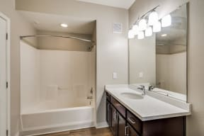 Spa-Inspired Bathroom at Pavona Apartments, San Jose, California