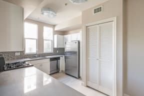 Newly Renovated Kitchen at Windsor at Hancock Park, California, 90004