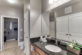 Large Walk-In Closets Attached to Select Bathrooms at The Ridgewood by Windsor, Fairfax, VA
