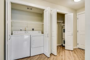 In-Home Washer and Dryer at Tera Apartments, 528 Central Way, WA