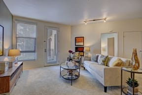 Spacious living rooms at Terraces at Paseo Colorado, 375 E. Green Street, Pasadena