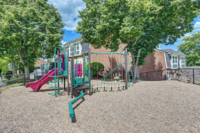Large And Secured Playground at Windsor Village at Waltham, Waltham, Massachusetts
