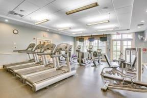 24-Hour Fitness Center at Windsor Village at Waltham, Massachusetts, 02452