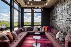 Resident Lounge with Gathering Spaces at Morningside Atlanta by Windsor, Atlanta, GA