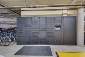 Luxer Lockers at Tera Apartments, 528 Central Way, WA