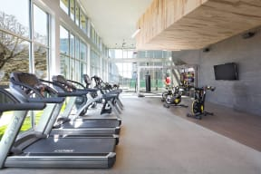 Expansive Fitness Studio at Metro West, 8055 Windrose Ave, TX