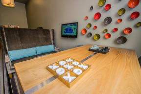 Board Games and TV in Tech Room at Platform 14, 97124, OR