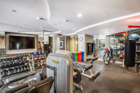 State-of-the-Art Fitness Center at South Park by Windsor, California, 90015