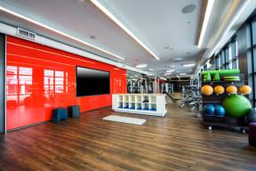 Yoga/Stretching Studio at Malden Station by Windsor, 250 W Santa Fe Ave, California