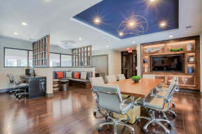 Fully Equipped Business Center at Windsor by the Galleria, 75240, TX