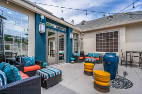 Indoor and Outdoor Amenity Spaces at Pavona Apartments, San Jose, 95112