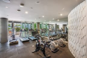 Cardio Equipment in Fitness Center at South Park by Windsor, 90015, CA