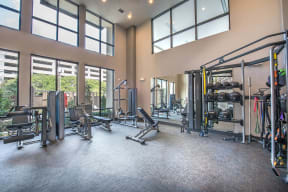 Fully Equipped Fitness Center at Windsor by the Galleria,13290 Noel Rd, TX