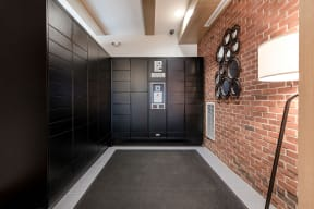 24/7 Package Lockers at Jack Flats by Windsor, Melrose, 02176