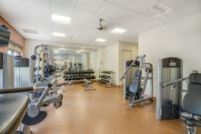 Fully-Equipped Fitness Center at The Manhattan, 80202, CO