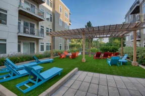 Spacious Outdoor Amenity Spaces at Vox on Two, 223 Concord Turnpike, Cambridge