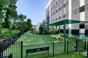 Pet Park with Agility Obstacles at Morningside Atlanta by Windsor, 1845 Piedmont Ave NE, GA