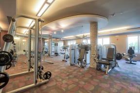 Modern, Spacious Fitness Center at Windsor at Cambridge Park, Massachusetts, 02140