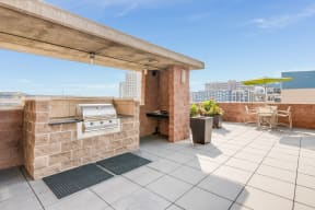 Dine al fresco on Terrace at The Manhattan Tower and Lofts, Denver, CO
