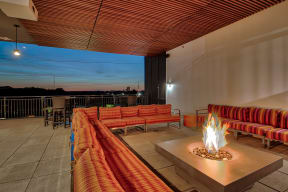 Open Air Fire Pit with Conversational Seating at Morningside Atlanta by Windsor, 1845 Piedmont Ave NE, Atlanta