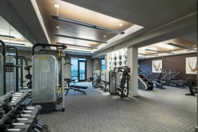 Tablet Integrated Cardio Equipment at Windsor Oak Hill, 78735, TX