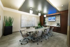 Conference Room at Windsor at Cambridge Park, 160 Cambridge Park Drive, Cambridge