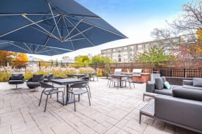 Outdoor Grilling and Dining Area at Jack Flats by Windsor, 1000 Stone Place, Melrose