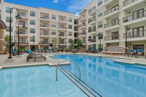 Sparkling, Resort-Style Swimming Pool at Windsor Old Fourth Ward, 30312, GA