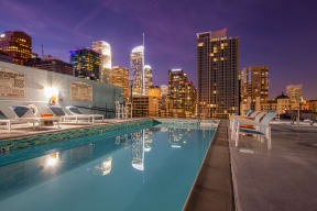 10th Floor Pool Deck at Renaissance Tower, 501 W. Olympic Boulevard, Los Angeles