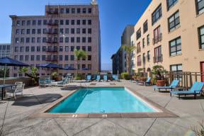 Heated Swimming Pool at Terraces at Paseo Colorado, 375 E. Green Street, Pasadena
