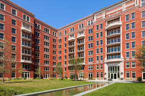 Intricate Courtyard Designs at The Woodley, 2700 Woodley Road, NW, Washington, District of Columbia