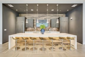 Chef Demonstration Kitchen at Allure by Windsor, 6750 Congress Avenue, Boca Raton