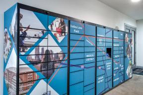 24/7 Package Lockers at Windsor West Lemmon, 3650 Cedarplaza Lane, Dallas