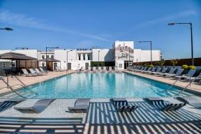 All Season Swimming Pool with Sundeck with Cabana at Morningside Atlanta by Windsor, 1845 Piedmont Ave NE, Atlanta