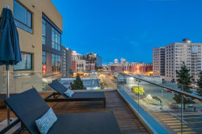 Rooftop Deck with Amazing Views at South Park by Windsor, Los Angeles, 90015